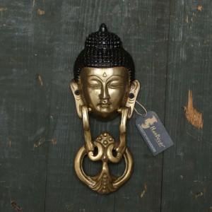 Buddha Face Door Knocker
