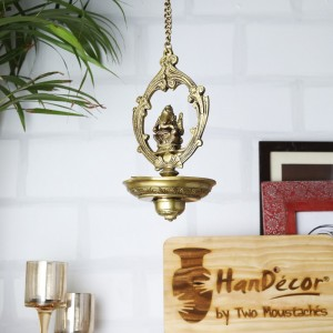 Ganesha Hanging Oil Wick Diya