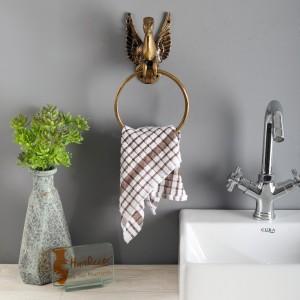 Flying Angel Horse Design Brass Towel Hanger