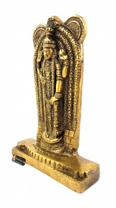 Lord Balaji 7 Inches Brass Statue