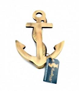 Anchor Design Brass Door Knocker