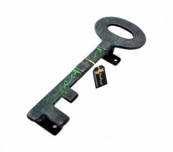 Treasure Key Design Brass Door/Cabinet Handle
