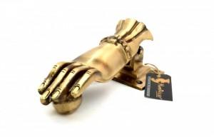 Hand Design Brass Door Knocker