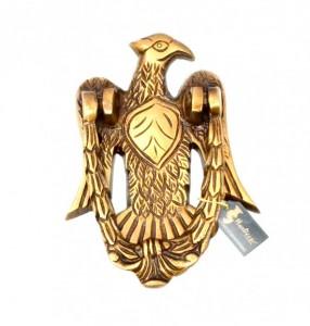 Vintage Eagle Design Brass Door Knocker
