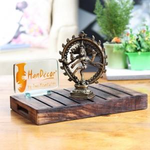 Brass Natraja  6.5 Inches Statue Showpiece