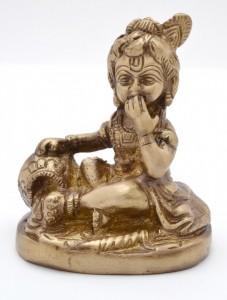 Krishna Makhan Chor (Sitting)