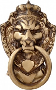 Victorian Style Lion Mouth Door Knocker