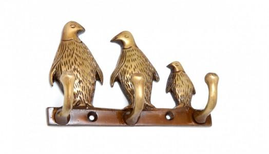 Penguin Family Key Holder