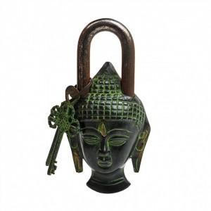 Buddha Door Lock Brown