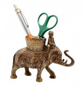 Royal Elephant Savari Pen Holder