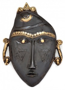 Tribal Man Mask Black