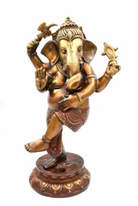Dancing Ganesha Statue 11 Inches